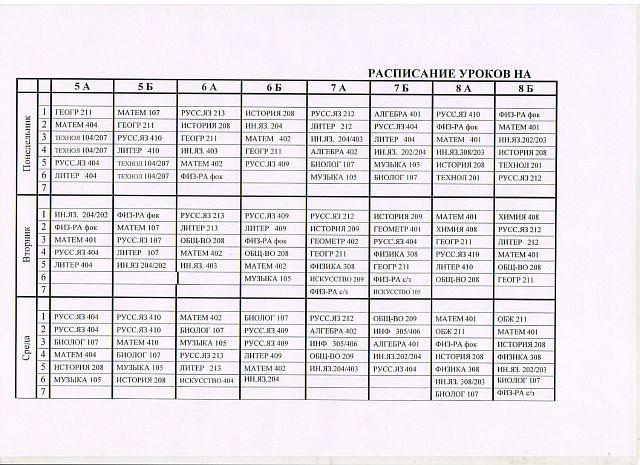 Основная и средняя школа-2