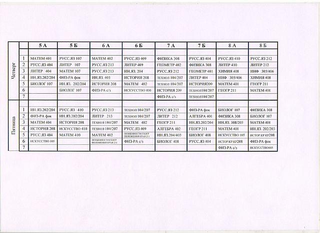Основная и средняя школа-3